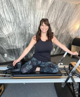 Photo profil Isabelle Babin instructrice STOTT Pilates